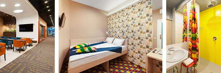 Бесплатный номер в отеле для гостей склада одежды сток в Магасе