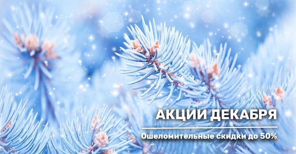 Акционные предложения декабря