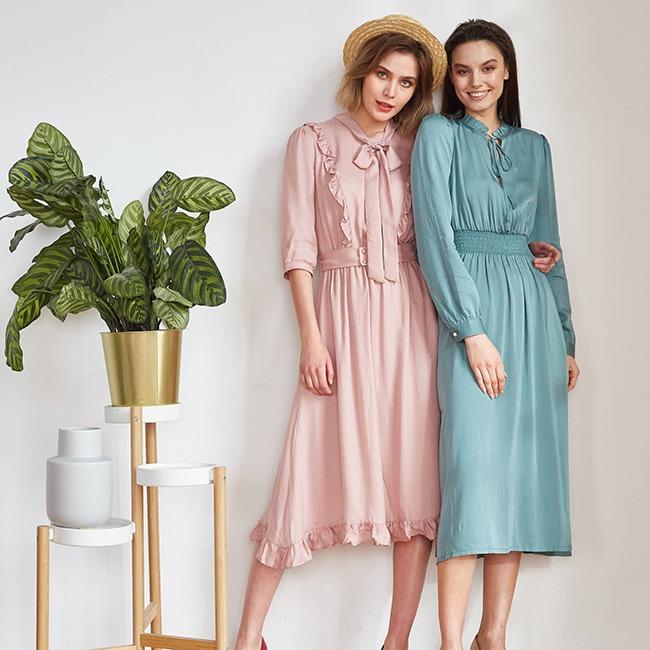 Платья весна